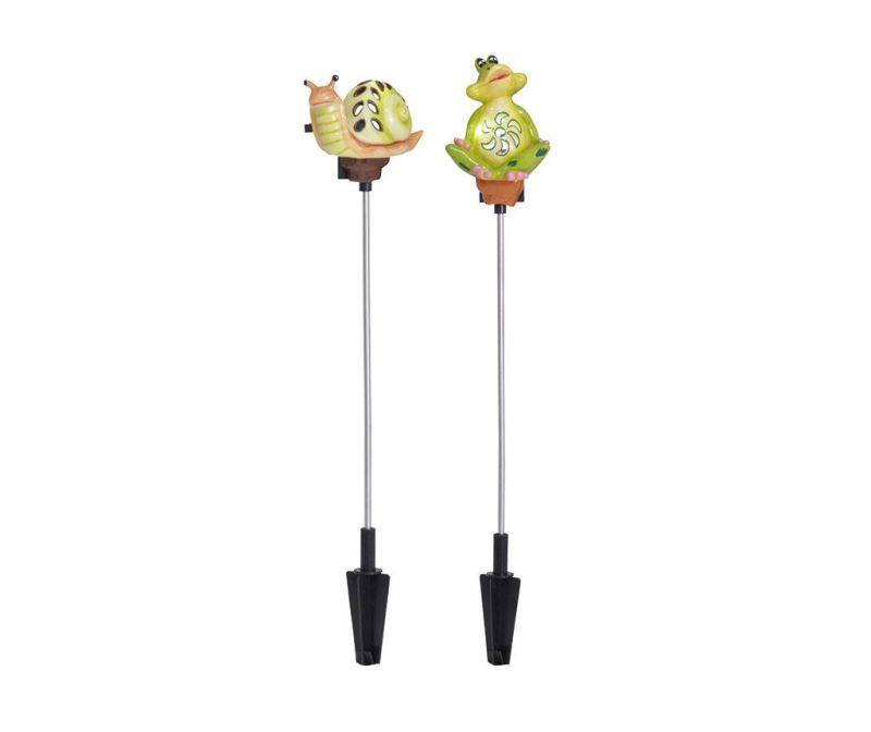 Frog & Snail 2 db Napelemes lámpa