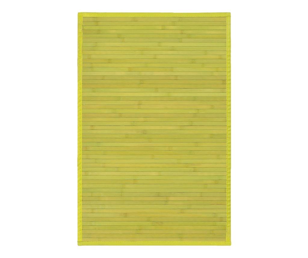 Covor tip pres Mimosa Green 60x90 cm