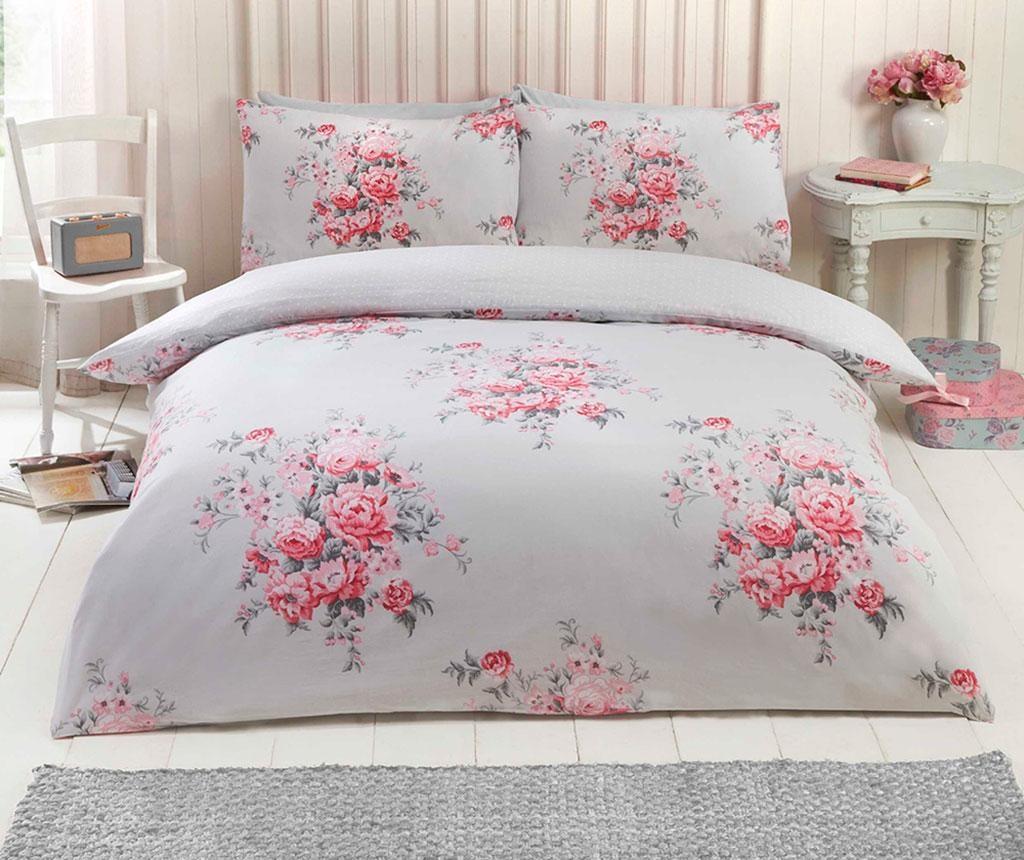 Set de pat Double Kate Grey
