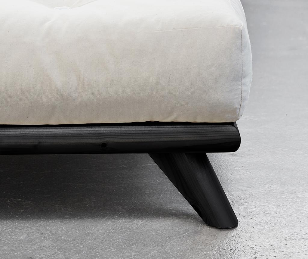 Postelja Senza Black 180x200 cm