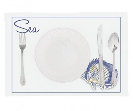Zestaw 2 podkładek stołowych Sea Fish 33x45 cm