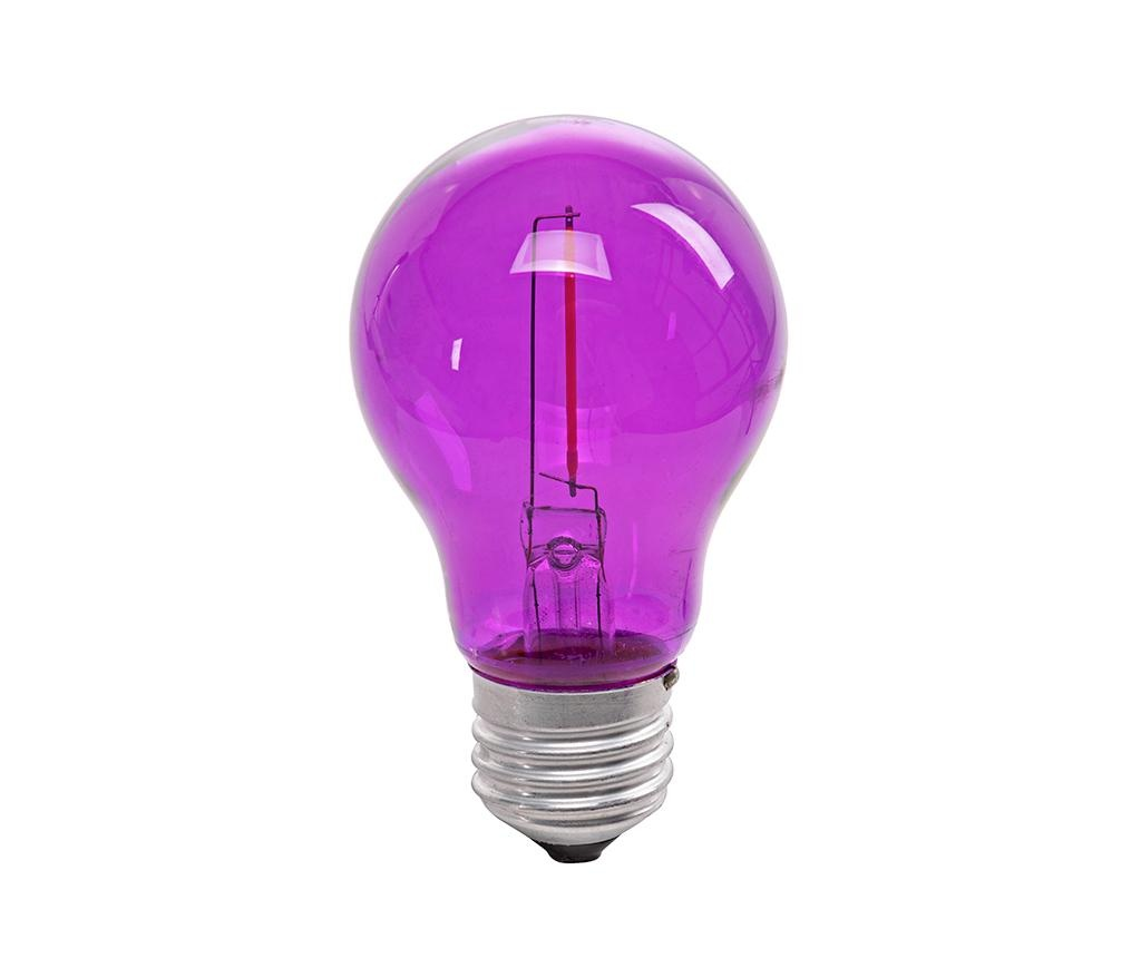 Bec cu LED E27 Pink Bulb
