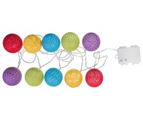 Vrtna svetlobna girlanda Balls OF Wool