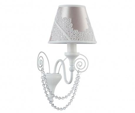 Lucy White Glossy Fali lámpa