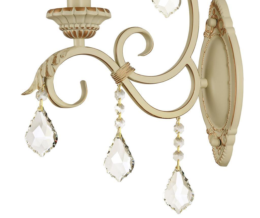 Zidna svjetiljka Velvet Cream Gold