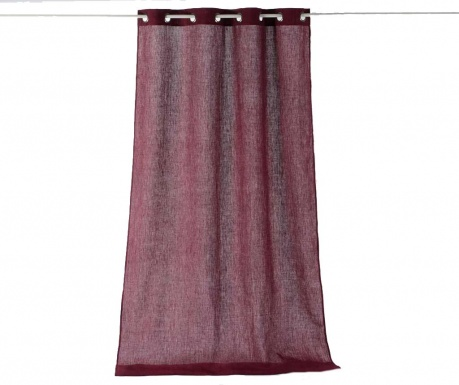 Kampaň ukončená Záclona Washed Style Plum 135x300 cm f6061cb567