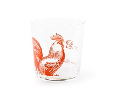 Sklenice Flore et Faune Rooster 370 ml