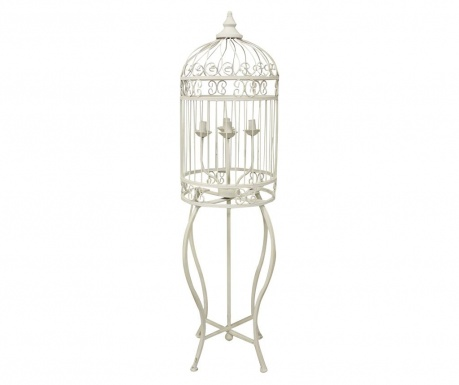Podlahová lampa Cage Antique Cream