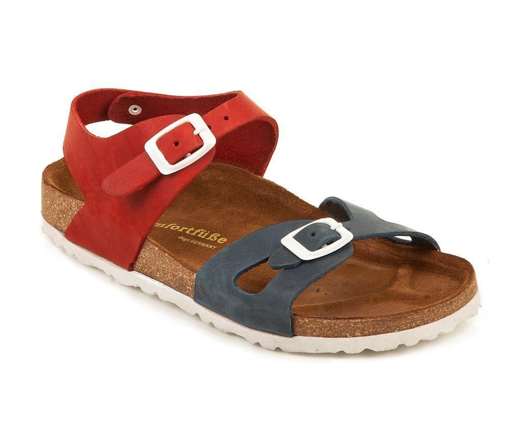 Dětské sandály Bady Navy Red 35