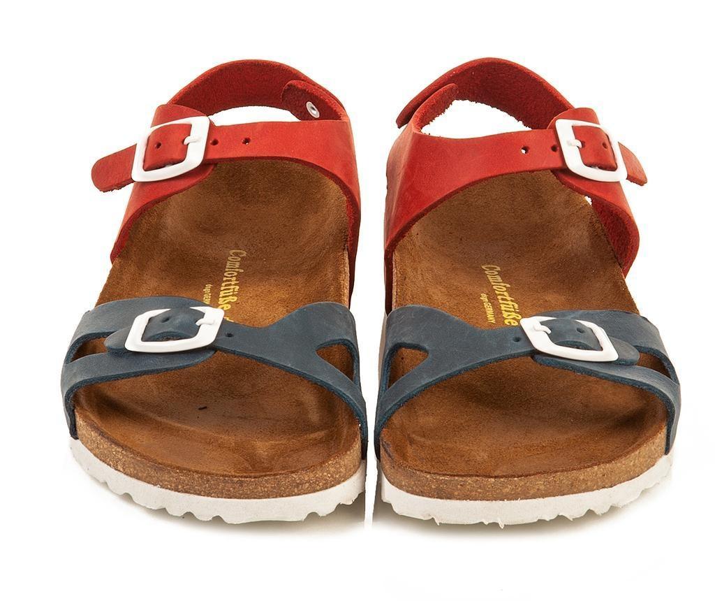 Dětské sandály Bady Navy Red 34