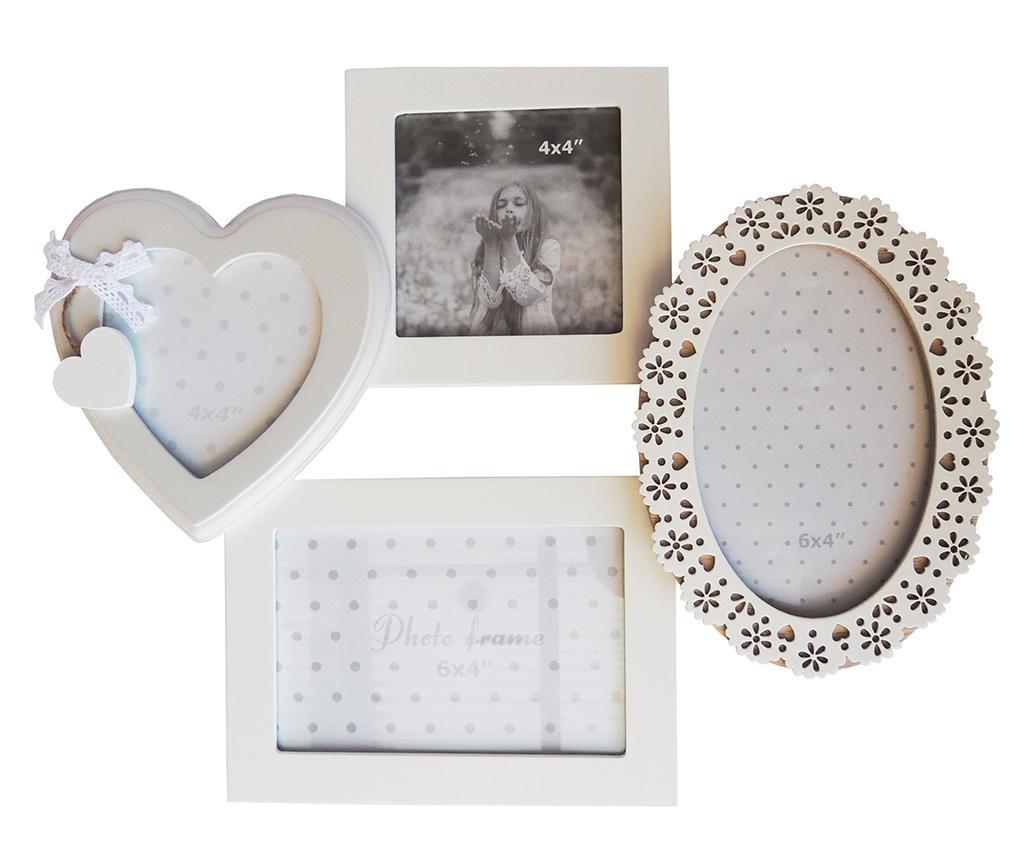 Okvir za 4 slike Love Home
