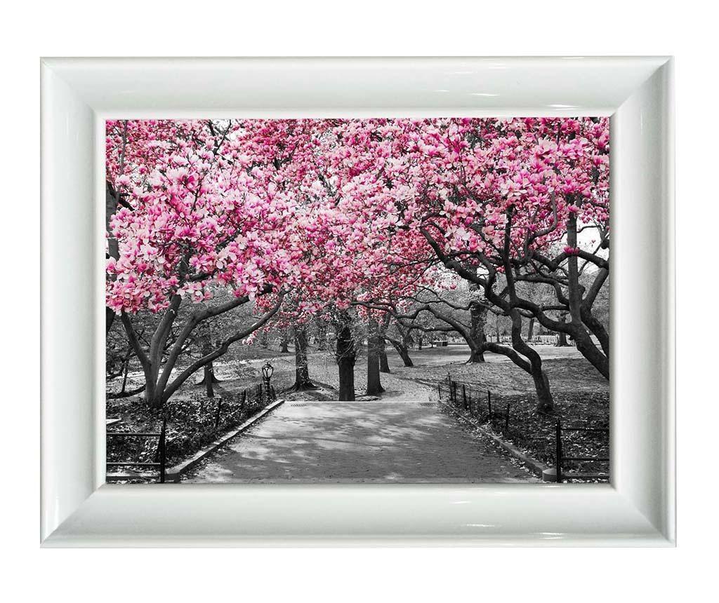 Slika Rosa Flowers 80x110 cm