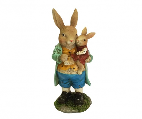 Decoratiune Father And Daughter Rabbit