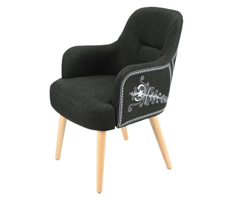 Židle Teddy Black Classic