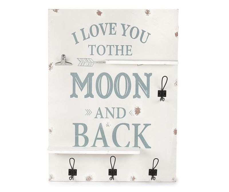 To the Moon and Back Fali polc