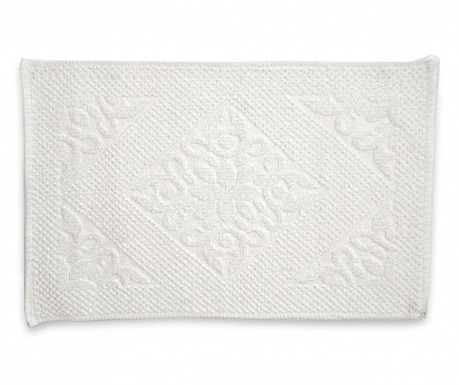 Килим за баня Kora White 50x80 см