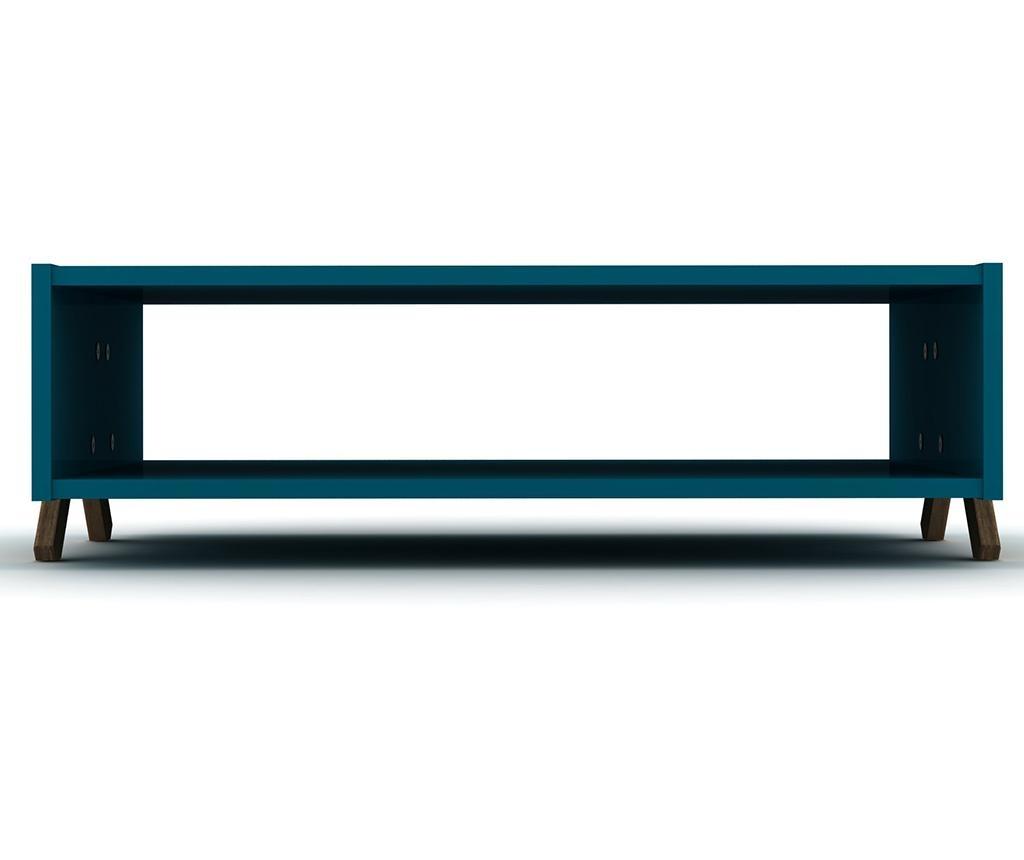 Kipp Walnut Blue Dohányzóasztal