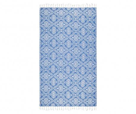 Kopalniška brisača Peshtemal Bianca Soft Blue 100x165 cm