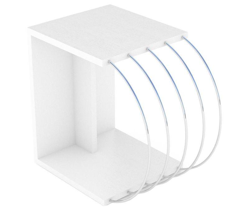 Stolić Case White Chrome