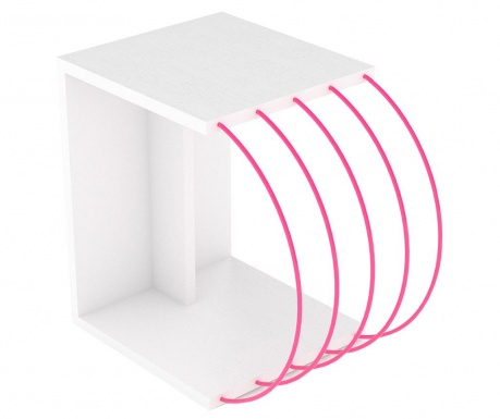 Mizica Case White Pink