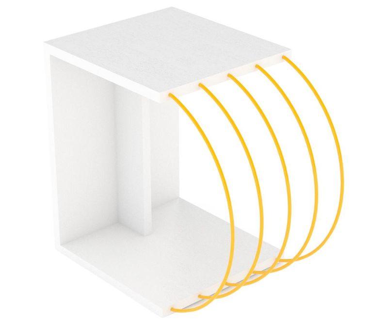 Stolić Case White Yellow