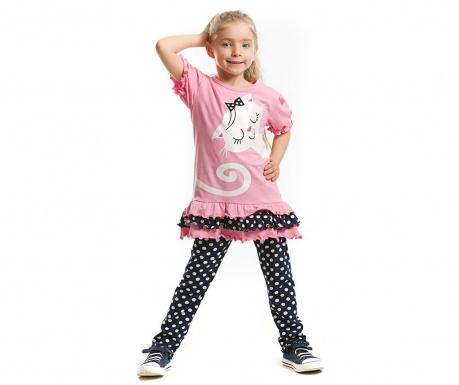 Set tunica si pantaloni pentru copii Upside Down