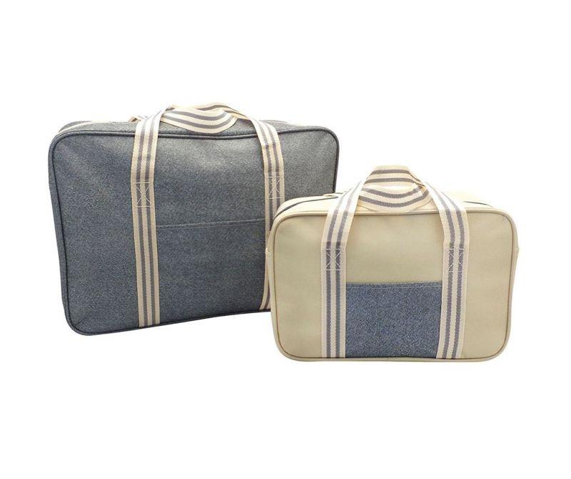 Set 2 hladilnih torb Snap Grey Stripe