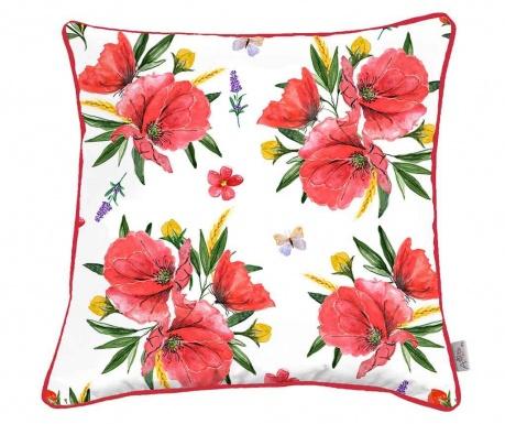 Povlak na polštář Poppy Lover 43x43