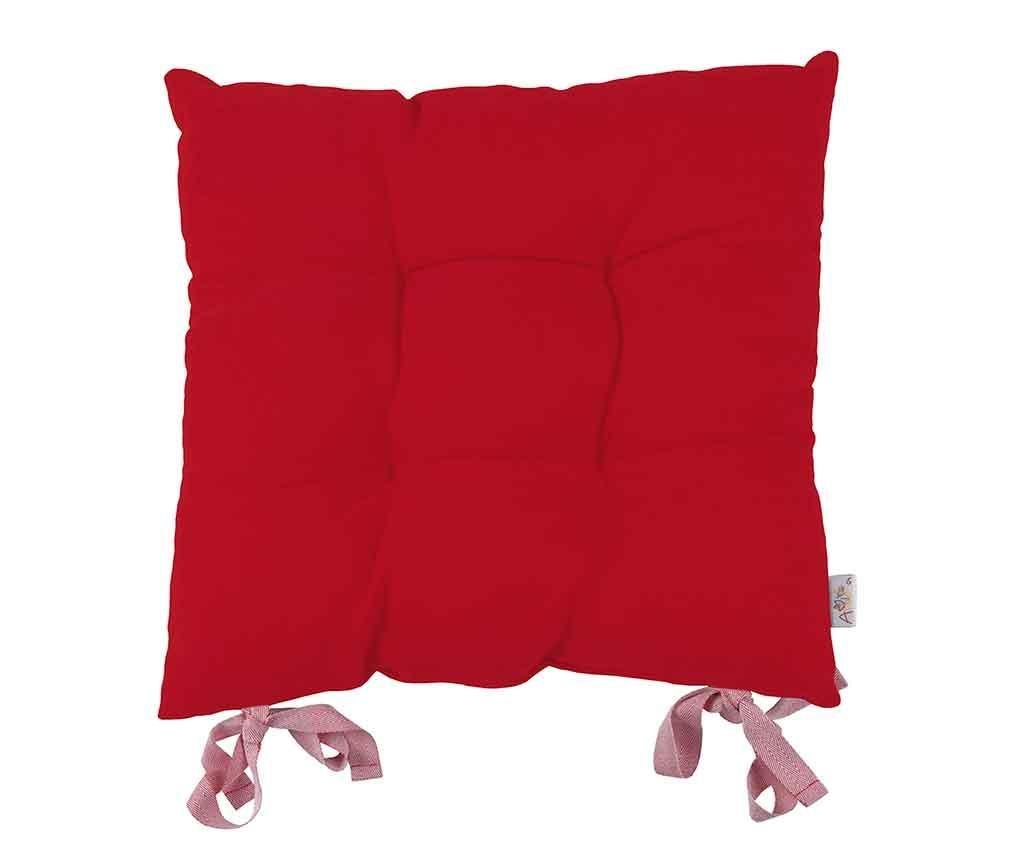 Perna de sezut Poppy Classic Red 43x43 cm