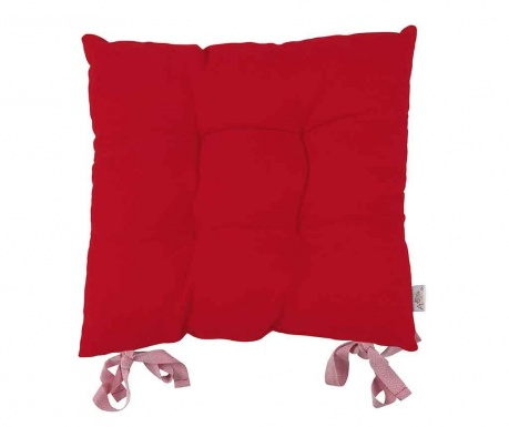 Възглавница за седалка Poppy Classic Red 43x43 см
