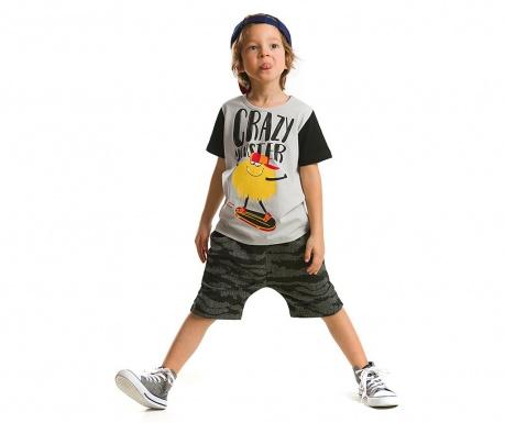 Set tricou si pantaloni scurti pentru copii Bush Camouflage