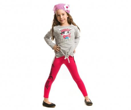 Set bluza si colanti lungi pentru copii Little Bunny