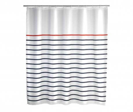 Zasłona prysznicowa Marine White 180x200 cm