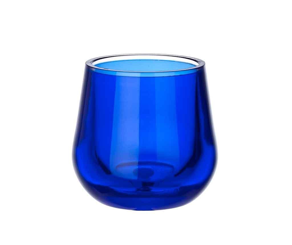 Pahar pentru baie Monaco Blue
