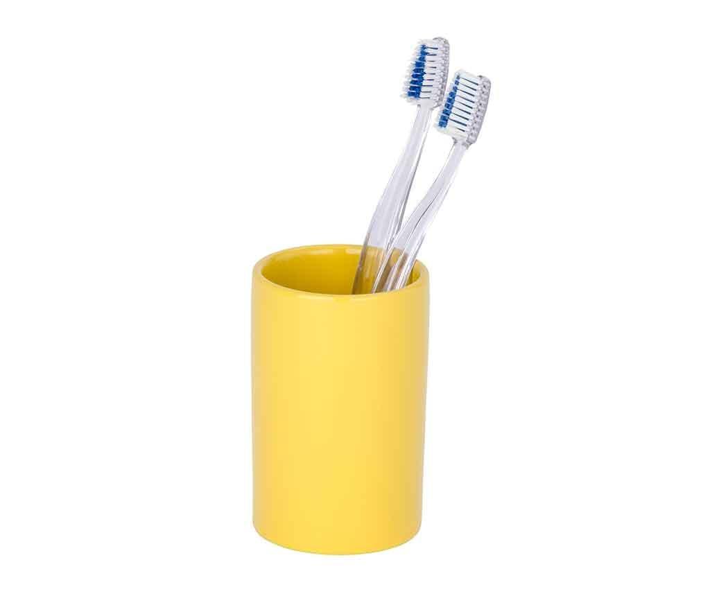 Polaris Yellow Fürdőszobai pohár