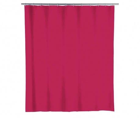 Zasłona prysznicowa Show Raspberry Red 180x200 cm