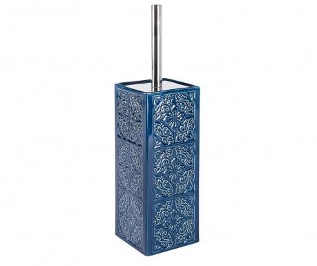 Szczotka toaletowa z pojemnikiem Cordoba Dark Blue