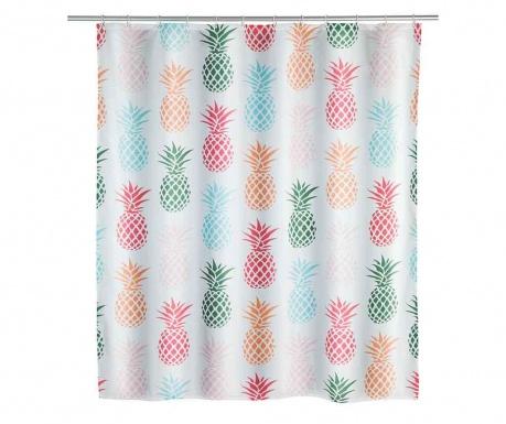 Zasłona prysznicowa Pineapple 180x200 cm