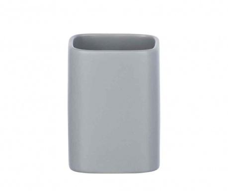 Pohár do kúpeľne Hexa Grey