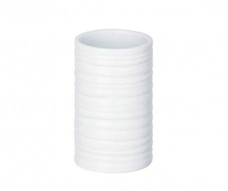 Kubek łazienkowy Mila White