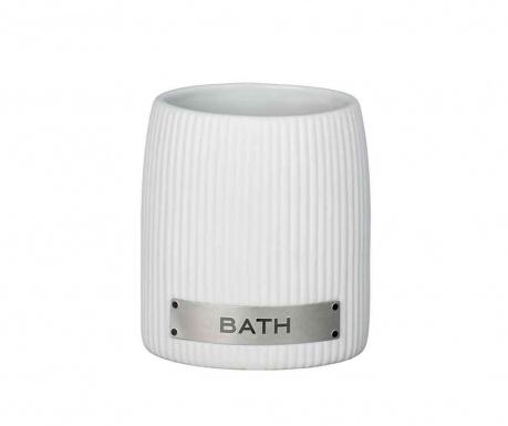 Pohár do koupelny Bathir White