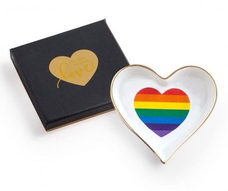 Patera dekoracyjna Rainbow Heart