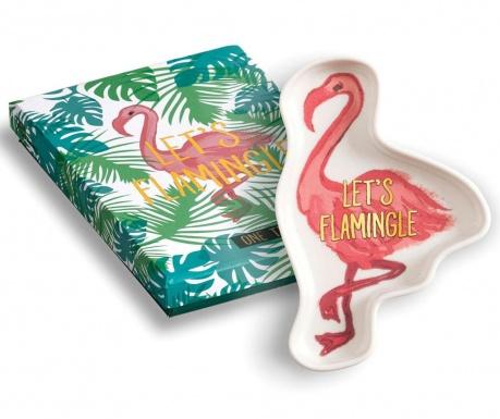 Patera dekoracyjna Let's Flamingle