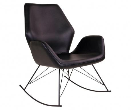 Krzesło na biegunach Nybro Black