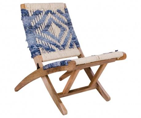 Krzesło składane Gaya Blue