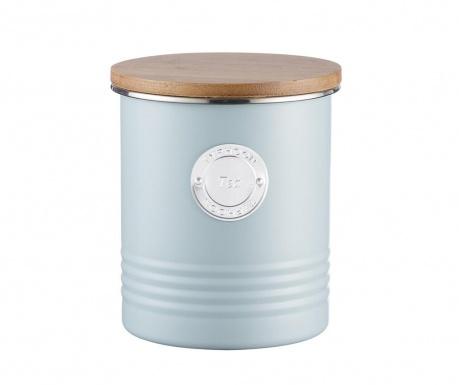 Posuda za čaj s hermetičkim poklopcem Living Blue