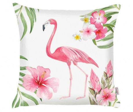 Tropical Flamingo Párnahuzat 43x43 cm