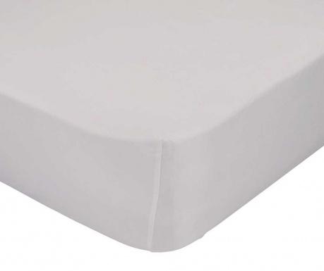 Cearsaf de pat cu elastic Basic Beige 90x200 cm