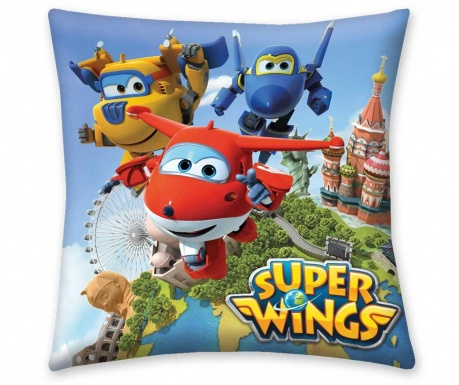 Perna decorativa Super Wings Air 40x40 cm