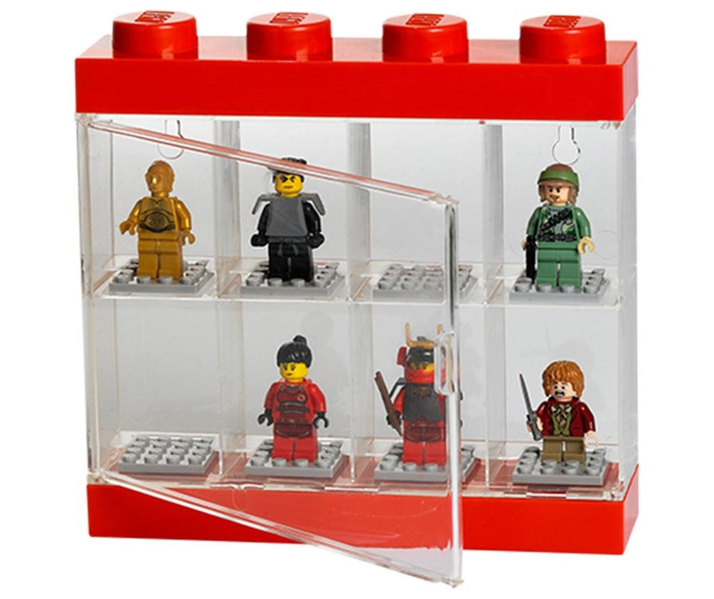 Škatla za 8 mini figuric Lego Few Red